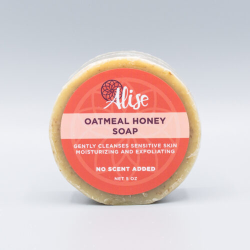 Oatmeal Honey Facial Soap 5oz