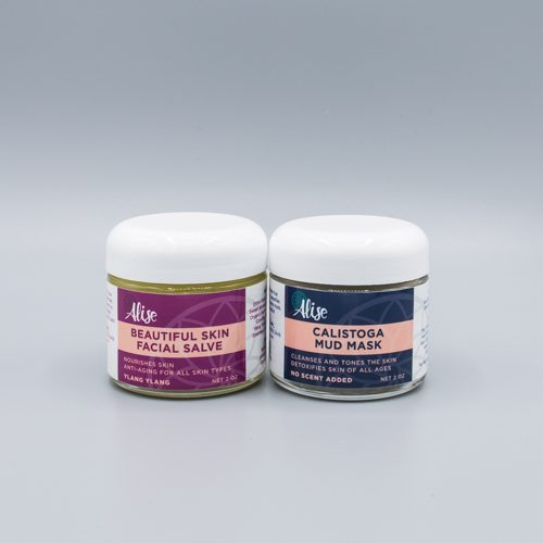 Beautiful Skin Facial Salve and Calistoga Mud Mask