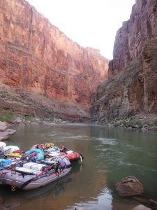 Raft in the Canyon