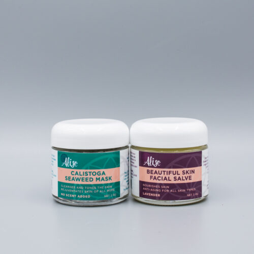 Calistoga Seaweed Mask and Beautiful Skin Facial Salve 2oz Lavender