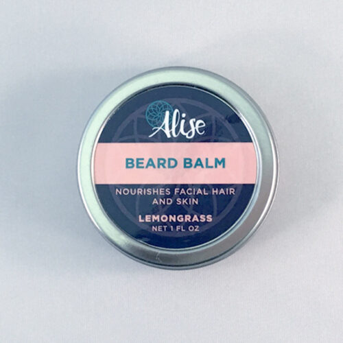 Beard Balm Lemongrass 1oz tin