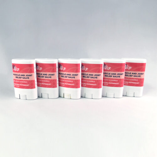 Muscle and Joint Relief Salve 6pack